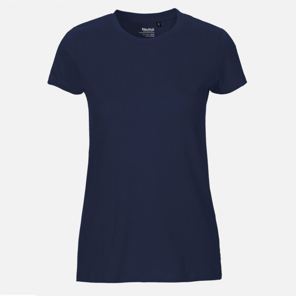 Neutral® Ladies Fit T-Shirt - Bio-Baumwolle Navy