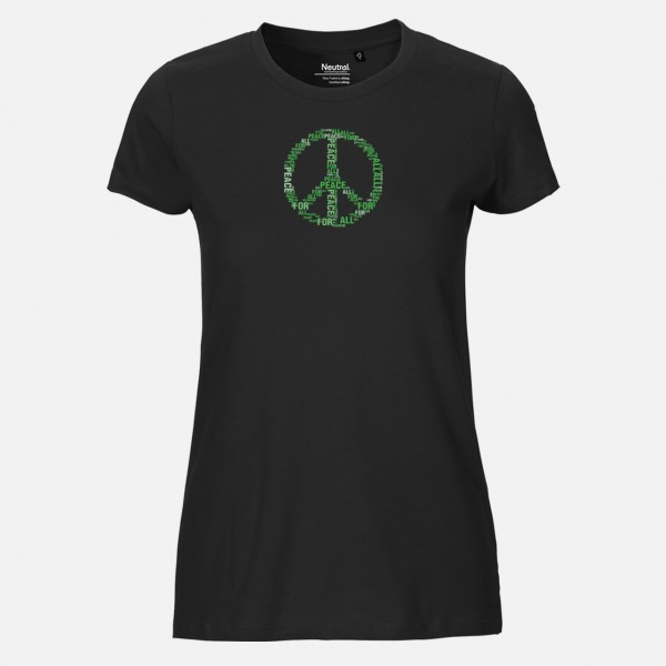 Damen T-Shirt - Peace
