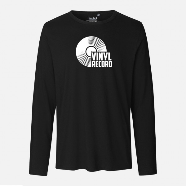 Mens Long Sleeve Shirt - Vinyl records