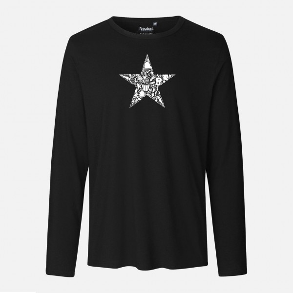 Mens Long Sleeve Shirt - Music revolution